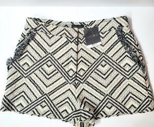 Topshop Fringe Pocket Shorts